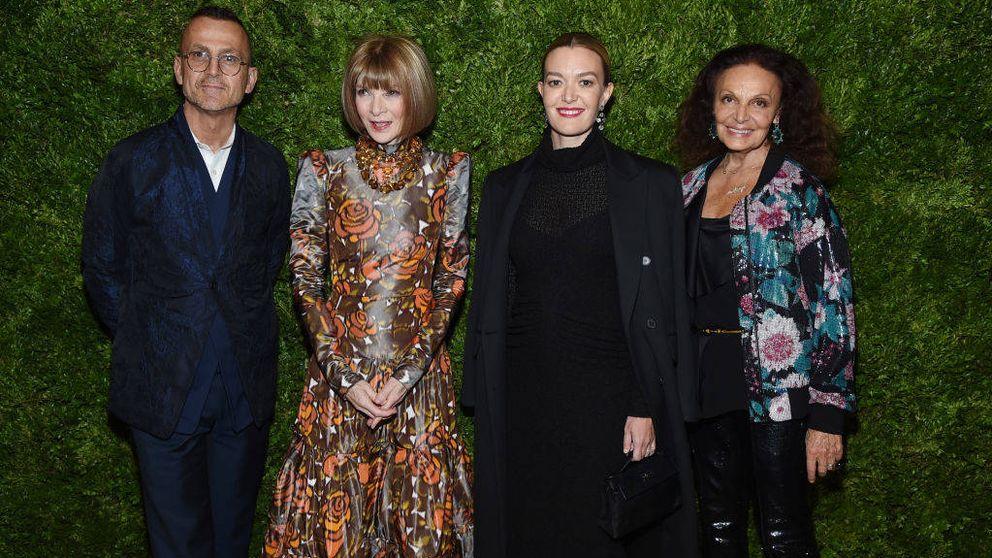 Marta Ortega espera una niña y lo celebra con Anna Wintour y Diane von Fürstenberg