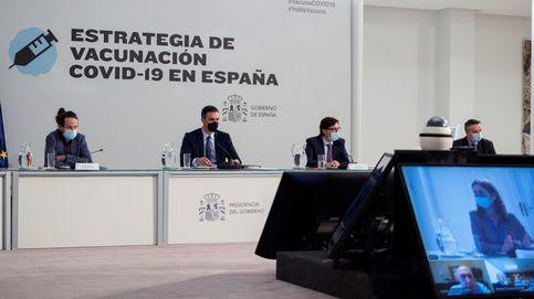 Sánchez improvisó en unas horas el control de los fondos UE tras un mes de tira y afloja