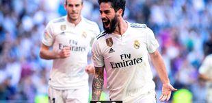 Post de El indulto de Zidane con Isco funciona en el Real Madrid: así cierra una herida