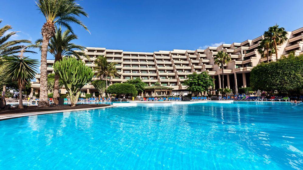 Foto: Hotel Lanzarote Playa, propiedad de Hispania.