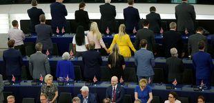 Post de Los diputados del Brexit le dan la espalda al himno de la Unión Europea