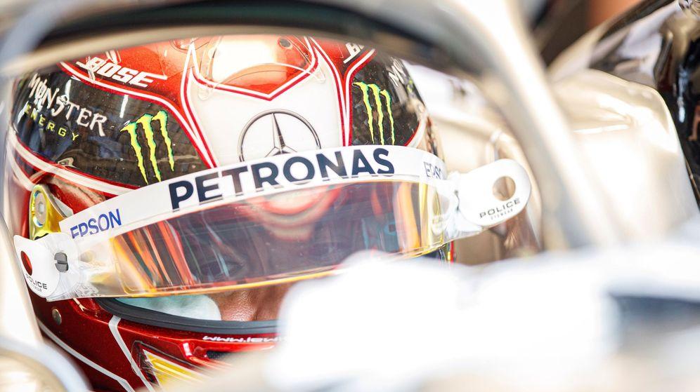 Foto: Lewis Hamilton en el Gran Premio de Francia. (Efe)