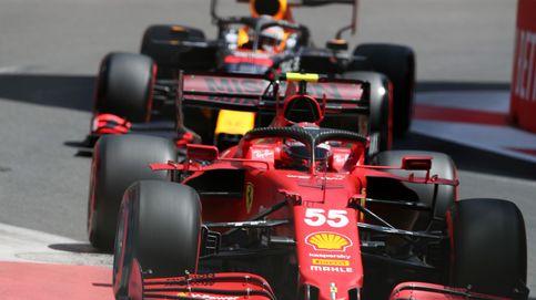 Sainz (3º) y Alonso (6º) sonríen en Bakú, domina Red Bull y Mercedes no carbura