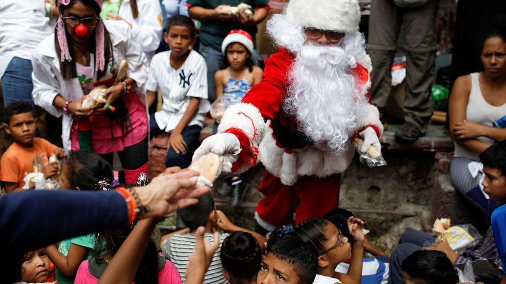 Navidad en Caracas: el Papá Noel de las calles