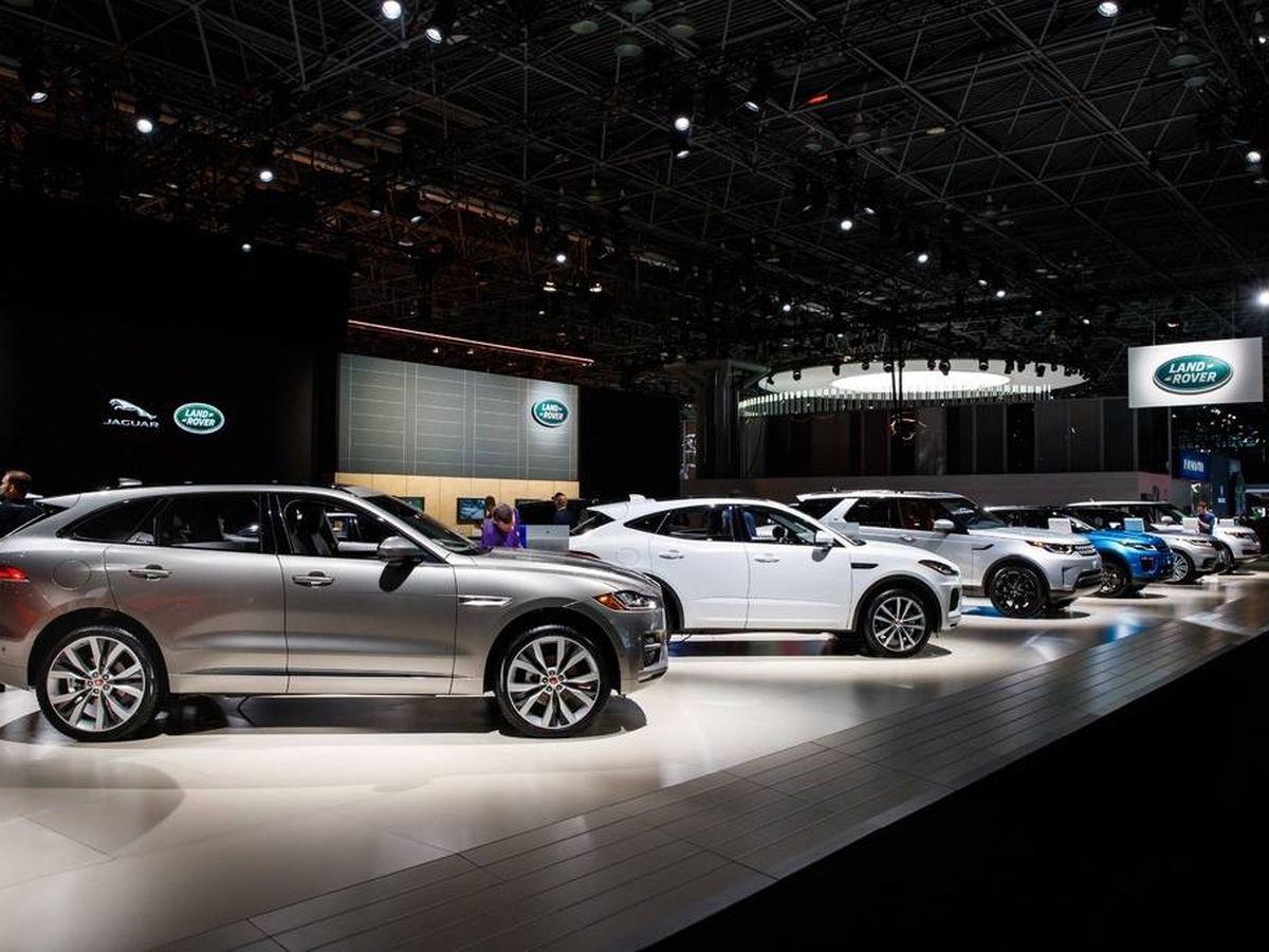 Foto: Imagen del Stand de Jaguar en la última edición del Salón de Ginebra celebrada en 2019.