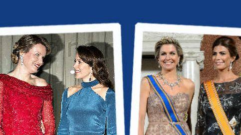 Estilo Real: analizamos los glamourosos duelos de estilo de Holanda y Dinamarca