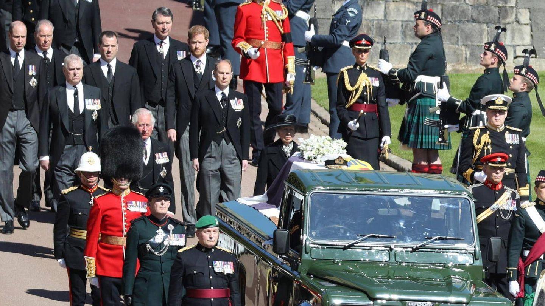 El funeral del duque de Edimburgo. (EFE)