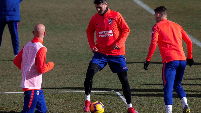 La confianza que Simeone da a Morata y que es clave para que se enchufe al Atlético