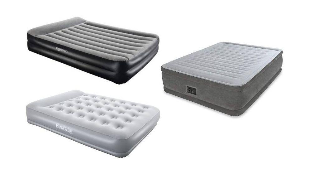 Colchón hinchable para tener una cama extra en campings o invitados en casa