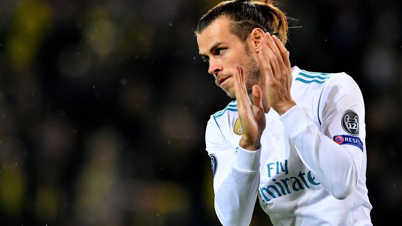 Foto: Gareth Bale en el partido frente al Borussia de Dortmund. (EFE)
