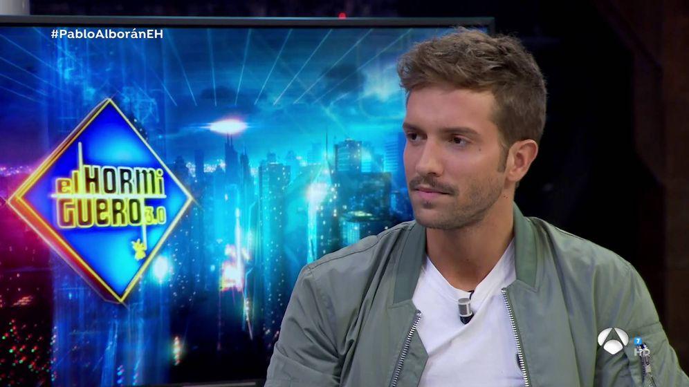 Foto: Pablo Alborán en 'El hormiguero'. (Atresmedia Televisión)
