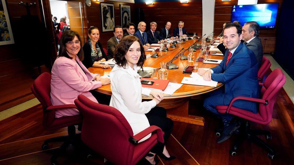 Foto: Último Consejo de Gobierno, celebrado en Pozuelo. Efeo de alarcón