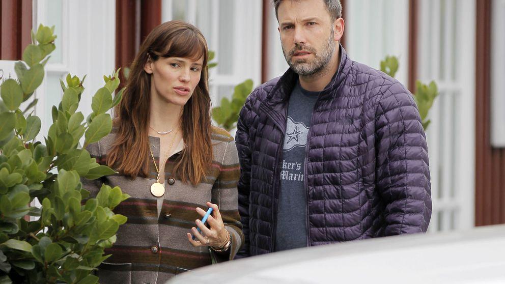 Ben Affleck, Jennifer Garner y el camión de mudanzas revive los rumores
