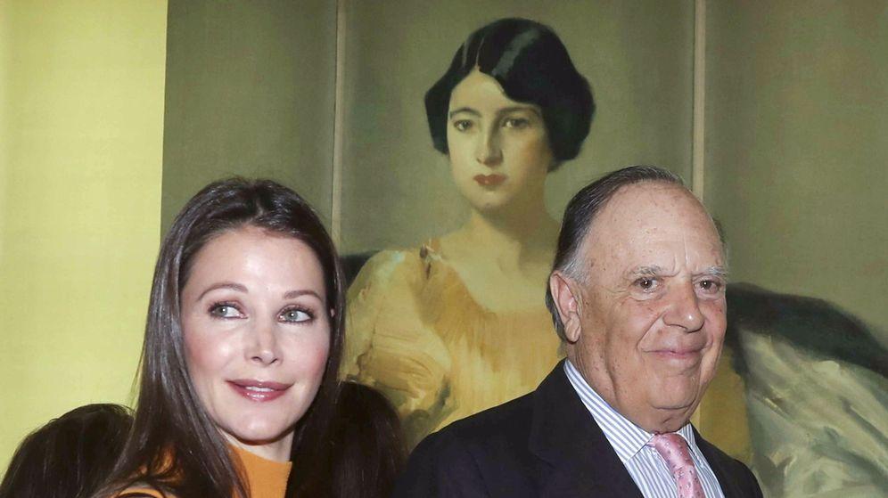 Foto: Esther Doña y Carlos Falcó, en la inauguración de la exposición 'Sorolla y la moda'. (EFE)