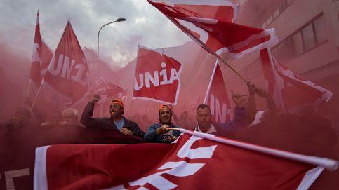 Huelga de trabajadores de la construcción en Suiza