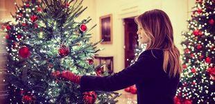 Post de Melania Trump se pasa con la decoración navideña: así fue la de otras primeras damas