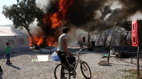 Euskadi se ofrece a acoger refugiados de Lesbos tras el incendio del campo de Moria