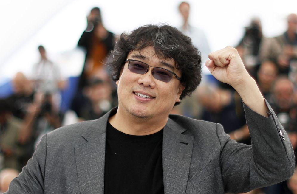 Foto: Bong Joon-Ho en Cannes (Reuters)