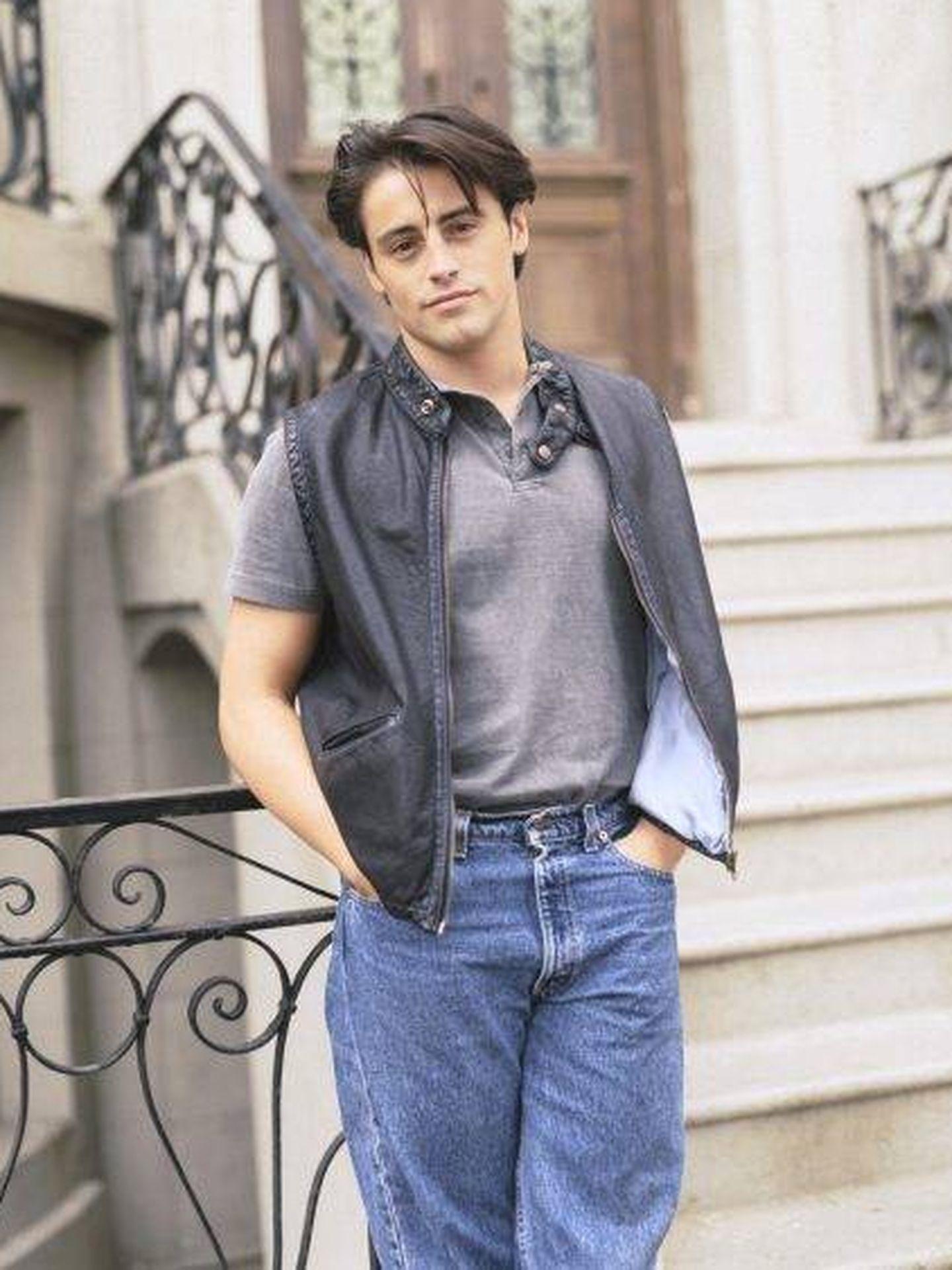 Matt LeBlanc, en la primera temporada de 'Friends'. (NBC)