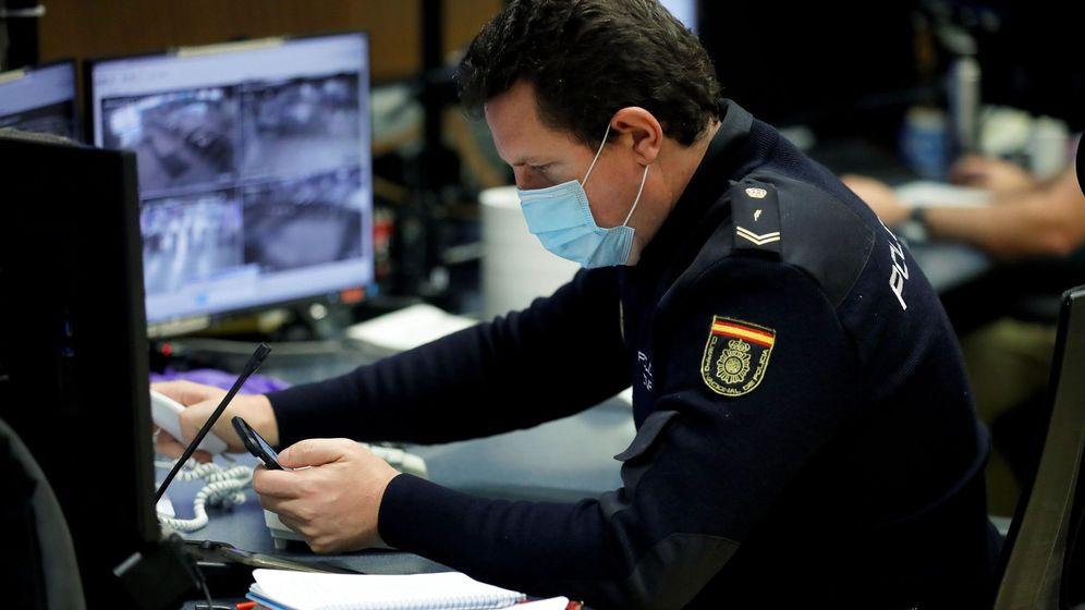 Foto: Un Policía Nacional. (EFE)