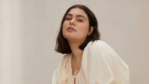 Largo y en color vainilla: así es el espectacular vestido de H&M para mujeres curvy