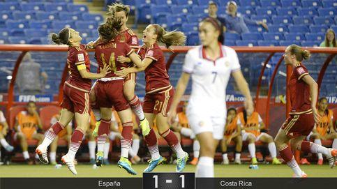 España debuta en un Mundial femenino con un empate que sabe a poco