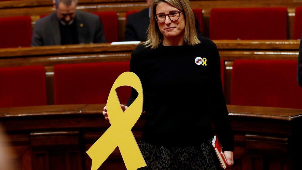 Foto: Elsa Artadi en la sesión constitutiva del Parlamento de Cataluña. (EFE)