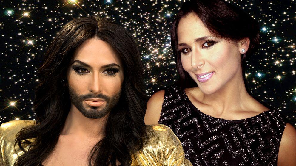 Conchita y Rosa celebran el 60 aniversario de Eurovisión