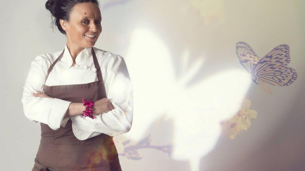 Foto: La chef en su restaurante de la Medina de Fez.