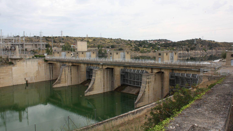 La presa de Ricobayo, en Zamora. (R. M.)