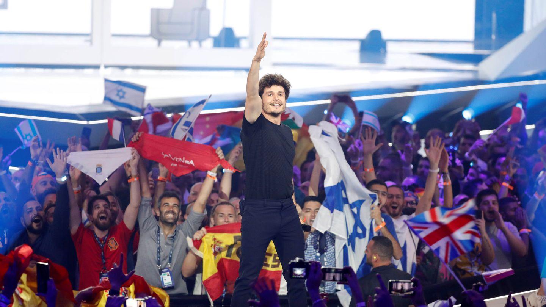 Miki, durante su actuación en Eurovisión 2019. (EFE)