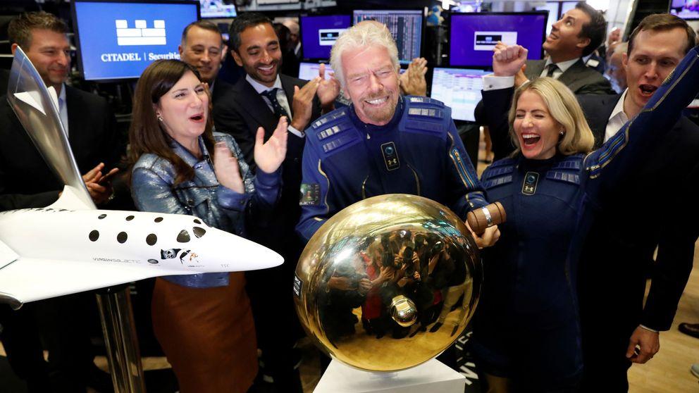 Virgin Galactic adelanta a Bezos y Musk en su debut bursátil con subidas moderadas