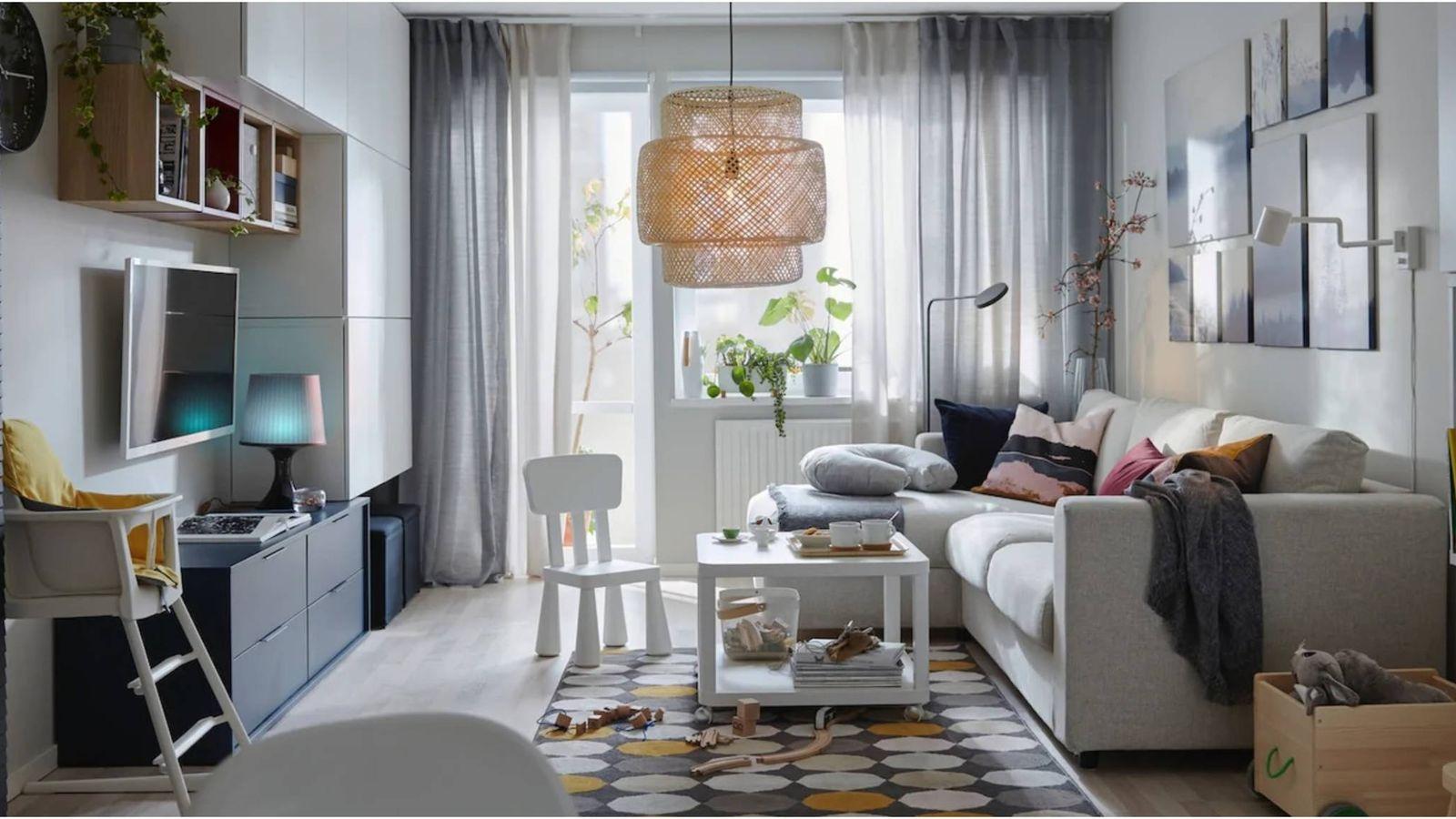 Cinco muebles de salón de Ikea (a muy buen precio) para que