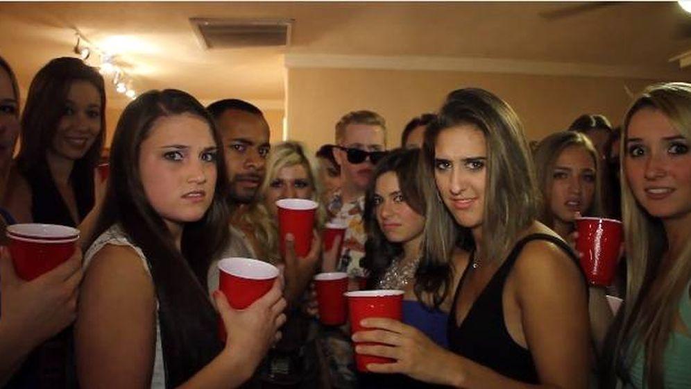Foto: Una de las imágenes más populares en estos foros, acompañada por el mensaje esto es lo que me pasa cuando entro en una fiesta.