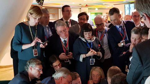 La foto que muestra la trastienda de la UE: así se alcanza un acuerdo en Europa