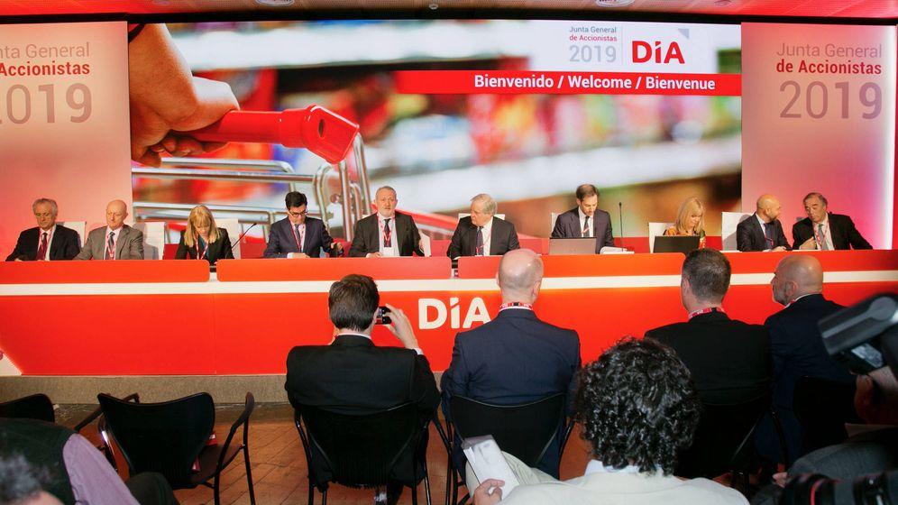 Foto: Junta de accionistas de DIA (Efe)