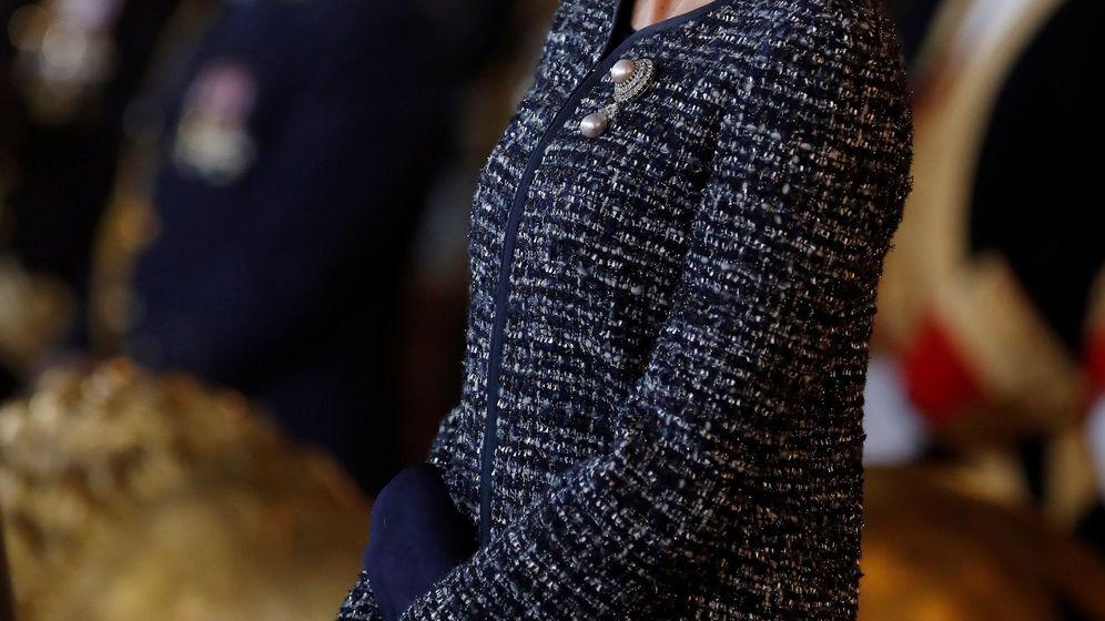 Foto: La reina Letizia en la Pascua Militar del año pasado. (Efe)