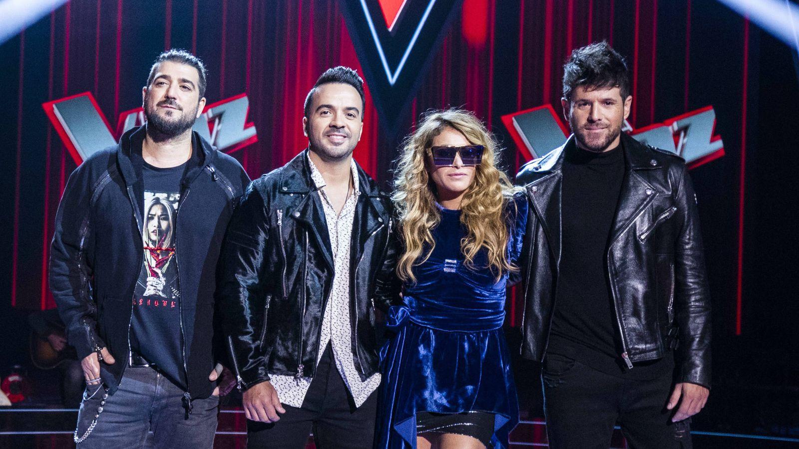 Foto: Coaches de 'La Voz'. (Atresmedia Televisión)