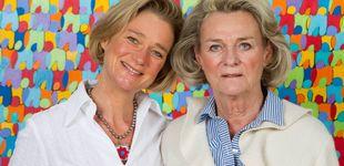 Post de Sybille de Selys Longchamps, la amante del rey Alberto y madre de su hija Delphine
