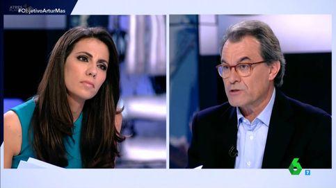 Ana Pastor le planta cara a Artur Mas en 'El objetivo': No me riña