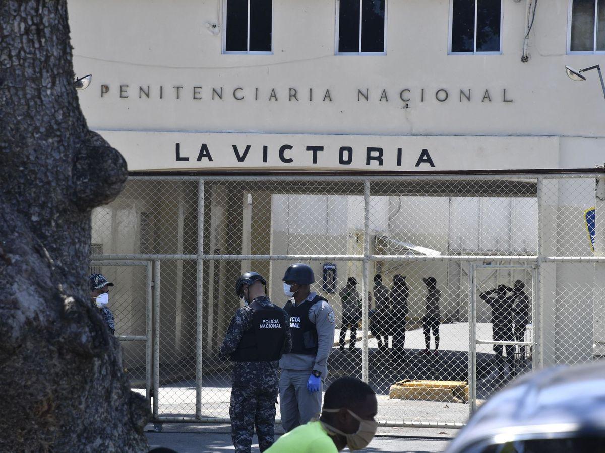 Foto: Cárcel La Victoria, Santo Domingo. (EFE)