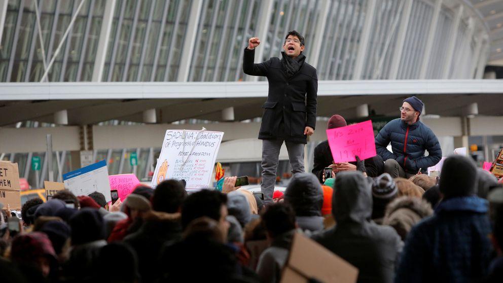Protestas en EEUU por el veto de Trump a la entrada de personas de países musulmanes