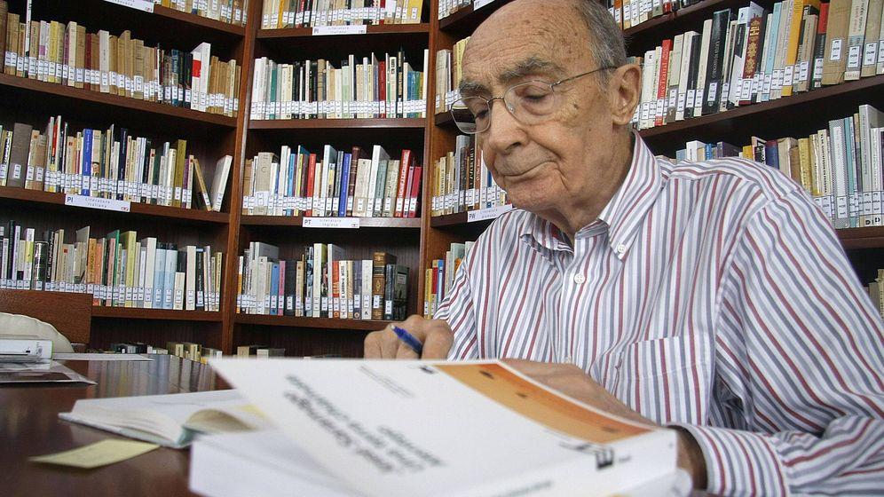 Foto: José Saramago. (EFE)
