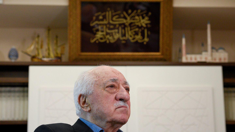 Fethullah Gülen en su residencia de Pensilvania, en julio de 2017. (Reuters)