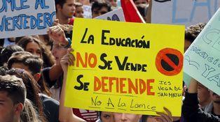 Los recortes le sientan bien a la educación pública