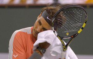 Un decepcionado Nadal, eliminado a las primeras de cambio ante Dolgopolov