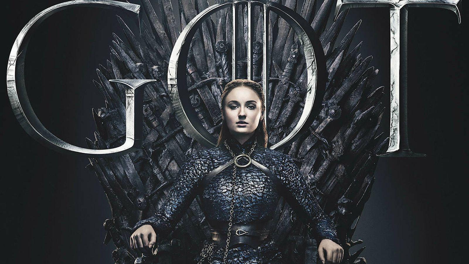 Foto: Sansa Stark en el Trono de Hierro. (HBO)