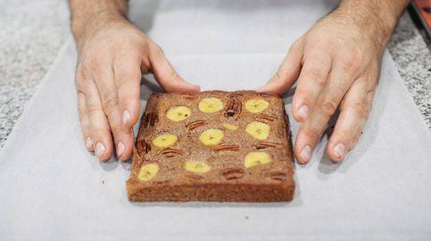 Brownie de plátano, ¿a qué esperas para comerte el mundo?