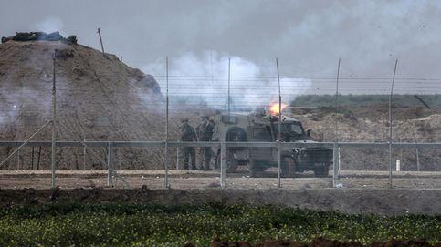 Israel bombardea centros de Hamás en Gaza en respuesta a un proyectil y los globos