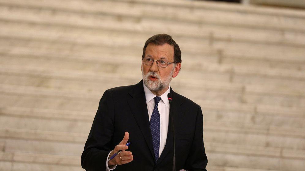 Foto: Mariano Rajoy en una rueda de prensa este martes en Sofía, Bulgaria. (EFE)